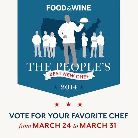 Food & Wine People's Best New Chef 2014