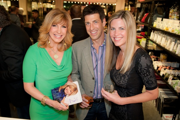 Leeza Gibbons, Mark Nanchy, Betsy Nanchy
