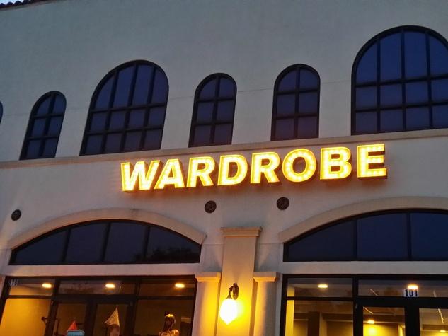 Wardrobe boutique exterior
