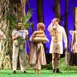 A Little Night Music - Houston Grand Opera - Photographer Lynn Lane  Natalya Romaniw as Mrs. Anderssen, Scott Quinn as Mr. Erlanson, Uliana Alexyuk as Mrs. Nordstrom, Samuel Schultz as Mr. Lindquist; Sarah Mesko as