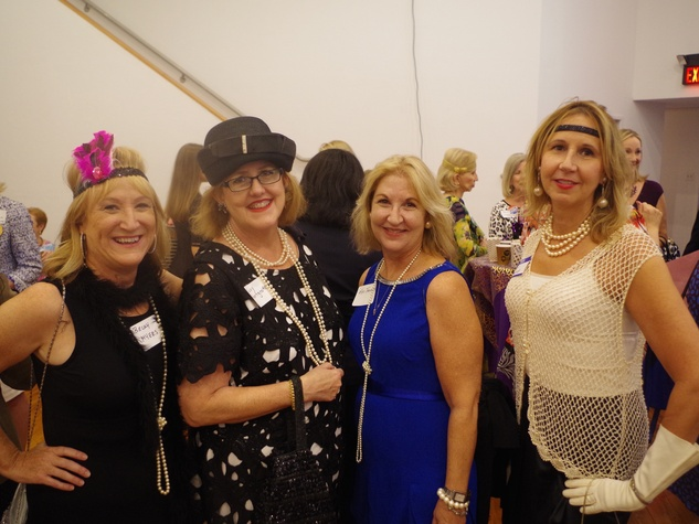 Becky Myers, Suzy Hartgrove, Kay Thompson and Kim Jessup Houston's Women's Equality Day Celebration