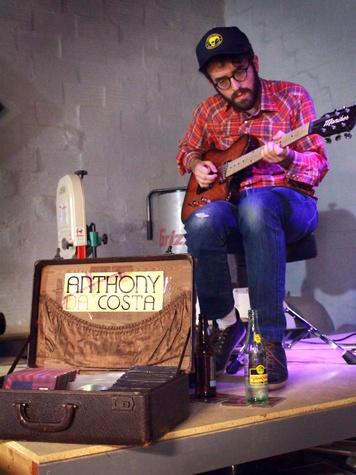 Moniker Guitars Texas BBQ Party December 2014 - Anthony da Costa