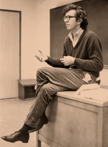 Larry McMurtry at Rice University in the early 1960s