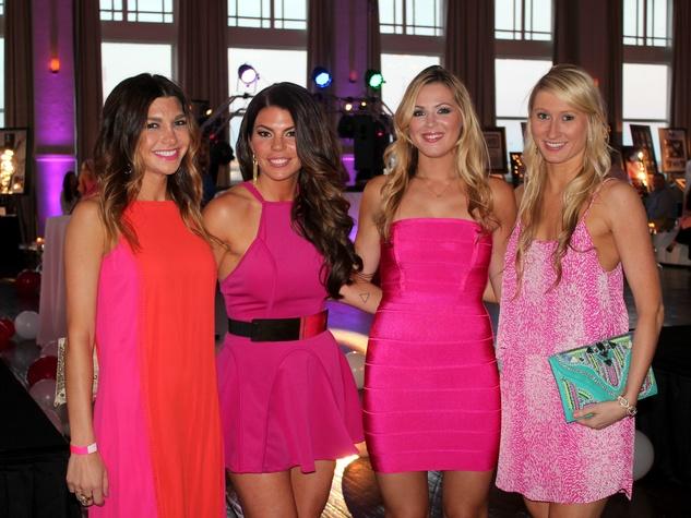 Jessi Cain, Jenna Owens, Holland Burian, Cate Biggs, Pink Party, Susan G. Komen