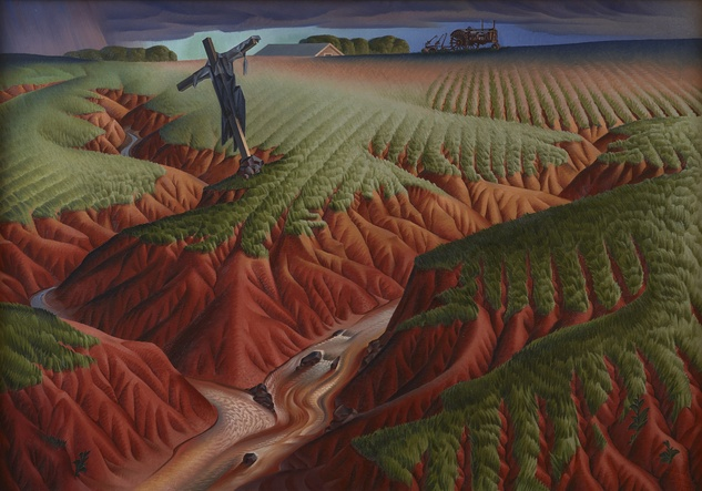 Alexandre Hogue: The Erosion Series