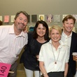 11 Patrick Wade, from left, Chris Butler, Bridget Wade, Bo Butler, Stacey Butler and Scott Butler at Luck of the Draw May 2014
