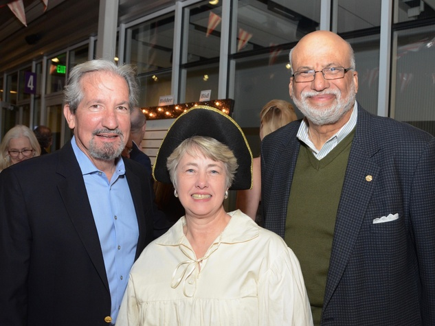 Terrence O'Rourke, Annise Parker, Larry Payne at Children at Risk