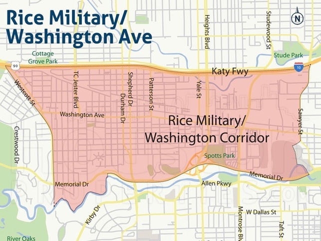 Rice Military map