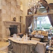 Avery Johnson mansion for sale The Woodlands Spring June 2013 living room with fireplace