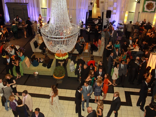 304 crowd, venue Houston Ballet/Carnan Properties party