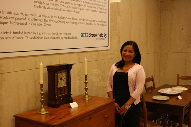 News, Shelby, The Heritage Society Young Houstonians, August 2014, Jeanne Guzman Farias
