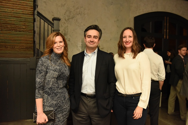 News, Pier & Beam party, Dec. 2015, Carey Kirkpatrick, David Rassin, Alison Lott
