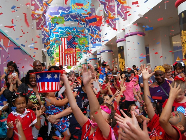 Houston, fourth of july, june 2017, Kidependence Day at children's museum