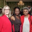 HSPVA luncheon, Feb. 2016, Carole Nelson, Lauren Anderson, Patricia Bonner