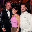 Michael and Lucia Cordua, left, with David Cordua at Bering Omega's Sing for Hope