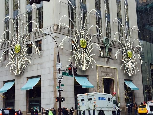 News, NYC Christmas decor, Dec. 2015