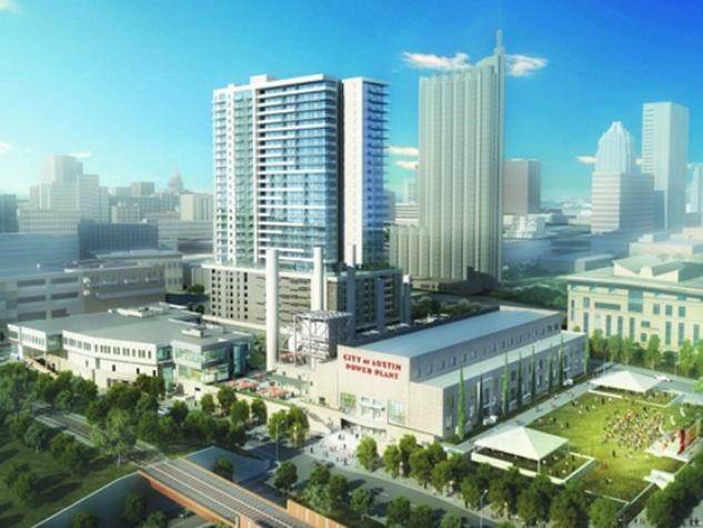 Seaholm Development rendering