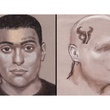 sketches of the food truck owner killer and his getaway driver