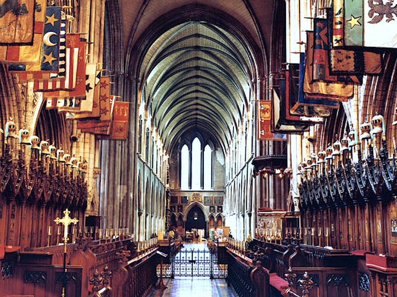 Houston, St. Patrick's Cathedral dublin, Sept 2017