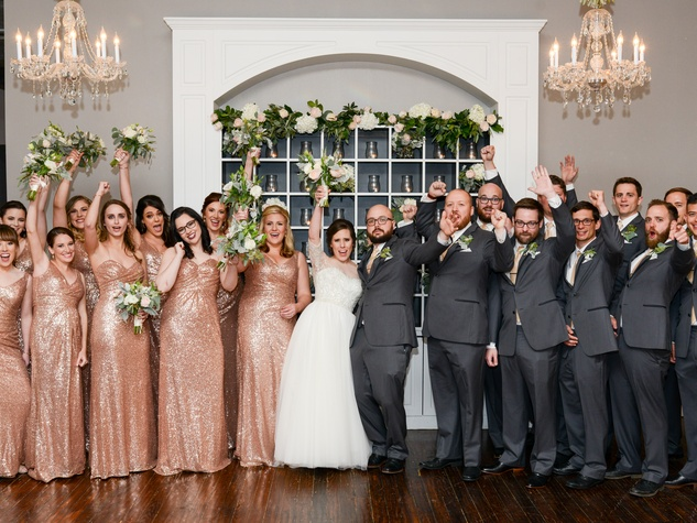 Beville wedding, party