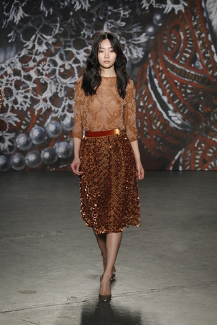 Jenny Packham look 9 fall 2015 collection