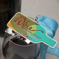 Wine Down Relay at Waterside corkscrew medal