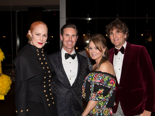 Jan Strimple, Shelby Wagner, Claire Emanuelson, Niven Morgan, DIFFA 2015