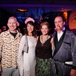 John Jeffries, from left, Frany Koelsch and Ashley and Curt Langley at DREAMSCAPE The Orange Show's 32nd Annual Gala November 2013