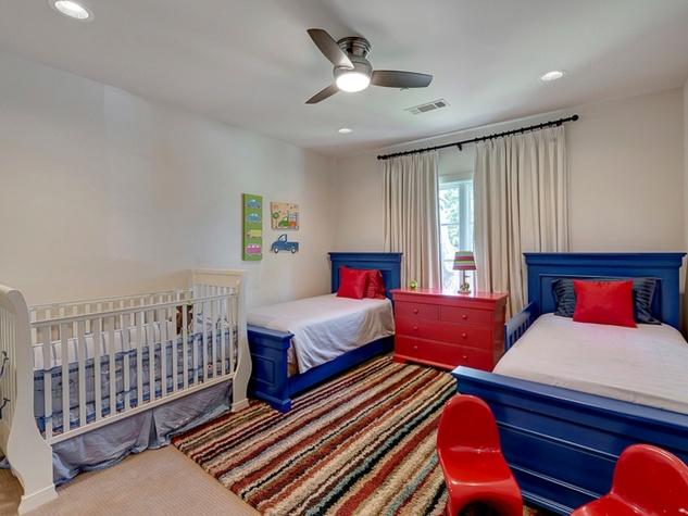 Bedroom at 3417 Villanova in Dallas