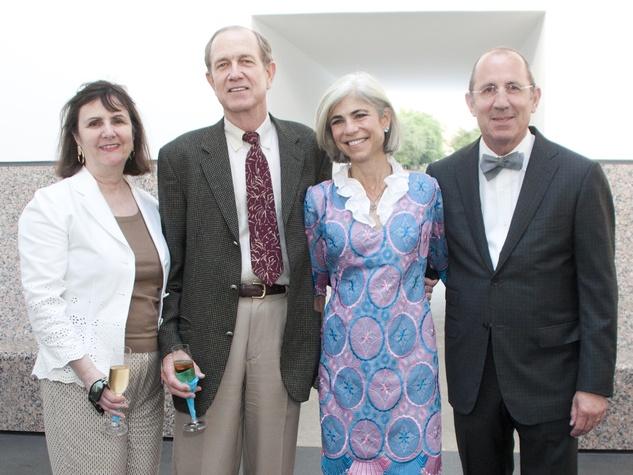News_017_Turrell Skyscape dedication_May 2012_Leslie Bucher_Brad Bucher_Judy Nyquist_Hiram Butler.jpg