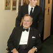 202 George H.W. Bush front, and Young man NAME at the Baker Institute 20th Anniversary Gala November 2013