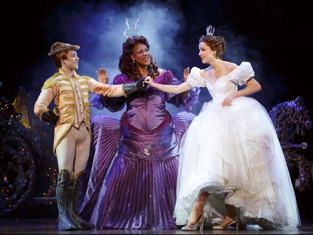 Cinderella at TUTS stage performance 4
