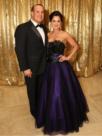 Wendy Messmann and Boyd Messmann, jld ball 2014