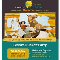 42nd Annual Bayou City Art Festival Kickoff Party