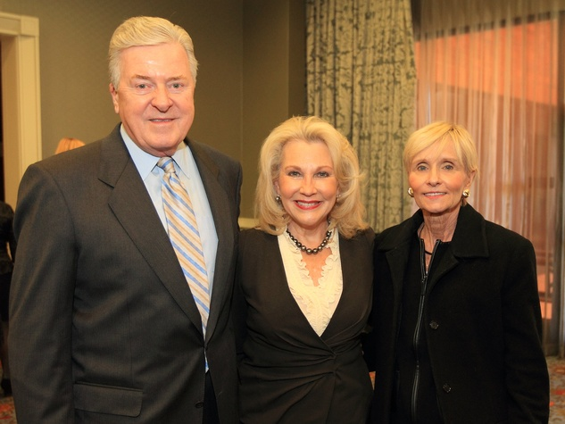 Denny and Connie Carreker with Carol Seay, DTMG Luncheon