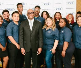 JSY Mentors +  Chief Brown