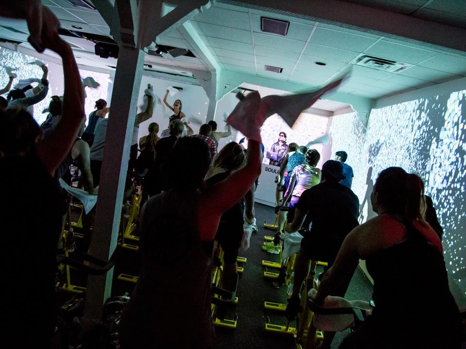 Spotify House SXSW party Chromeo DJ SoulCycle March 2016