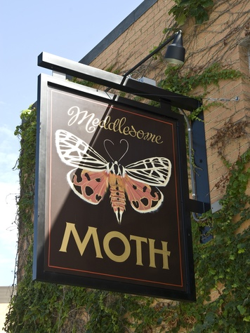 Meddlesome Moth restaurant and bar in Dallas