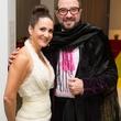 Daniela Barcelo and Henrique Faria at the MFAH Latin American Experience November 2013