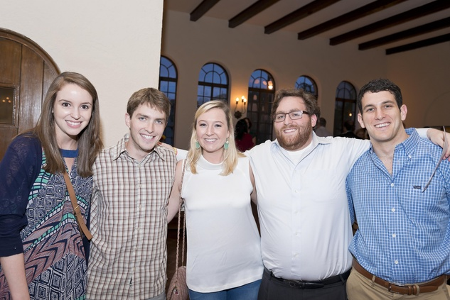 Kaitlin McLaughlin, from left, Alex Howe, Amy Lyus, Kevin Tofsky and Daniel Barvin at the Camp for All event September 2014