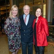 0166 Sara Dodd, from left, George Farish, Martha Oti MCW at the Cristo Rey Jesuit Gala January 2015