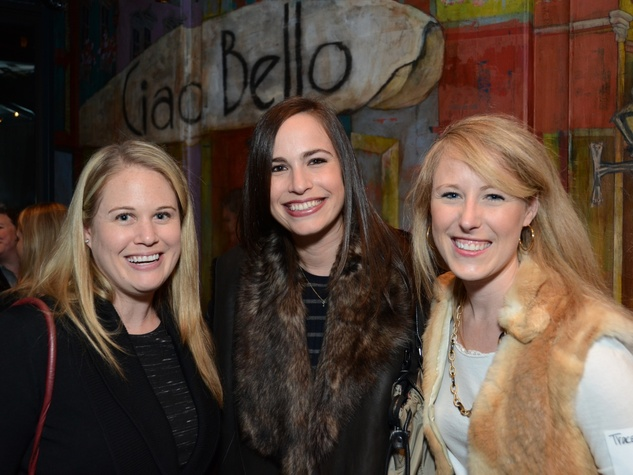 17 Lindsay Grossman, from left, Tracy Leibovitz and Tracey Keegan at the Holocaust Museum Houston's Next Generation Young Professionals kickoff party November 2013