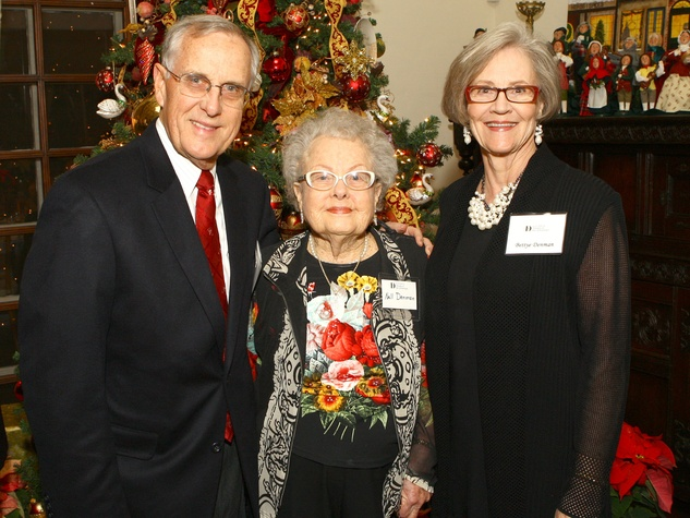 Ed Denman, Nell Denman, Bettye Denman, DA Holiday Party