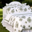 Karen Pulaski Tribute Goods linen collection September 2013 Earth-Meadow