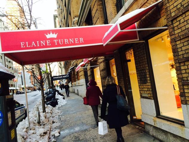 Elaine Turner New York store exterior