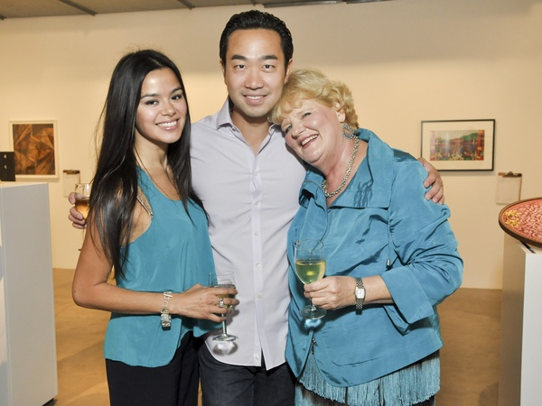 News_003_Glassell benefit_May 2012_Jahaira Lazo_Dr. Patrick Hsu_Gwen Goffe.jpg