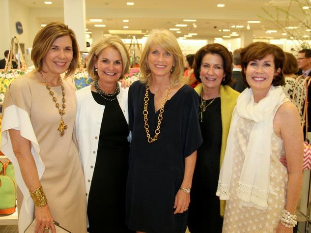 Kim Belk, Lynn Pitts, Susan Anderson, Sarah Belk, Beth McClure, Belk Grand Opening