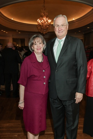 Dorothy and Mickey Ables at the Center for Houston's Future dinner November 2014