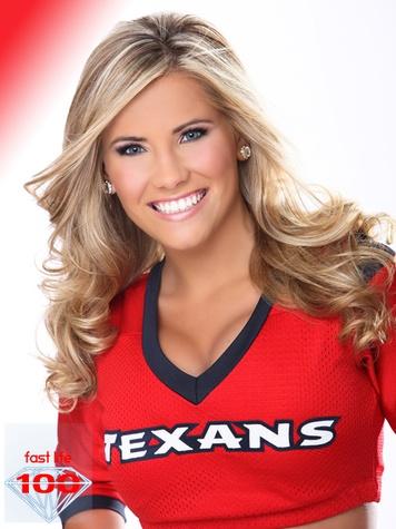 most beautiful NFL cheerleaders, Houston Texans cheerleaders, Kayla, December 2012