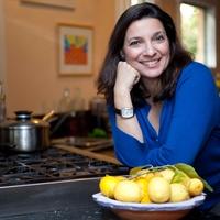 Yia Yia Mary's, Diane Kochilas, Greek cookbook author, October 2012, Diane Kochilas